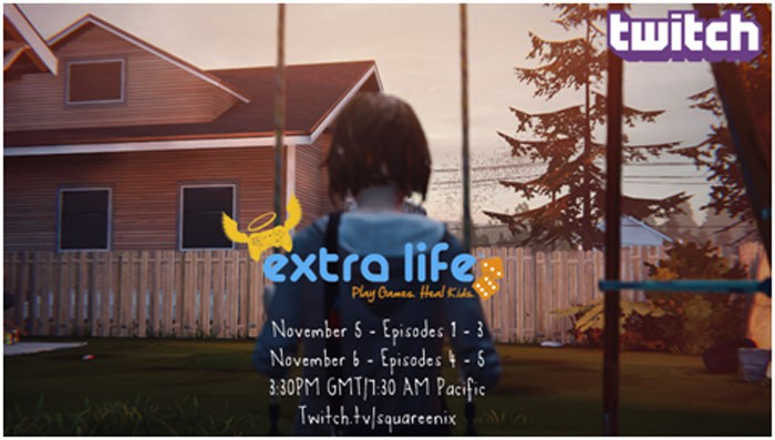Life Is Strange aiming to raise $5000 for charity with Twitch stream