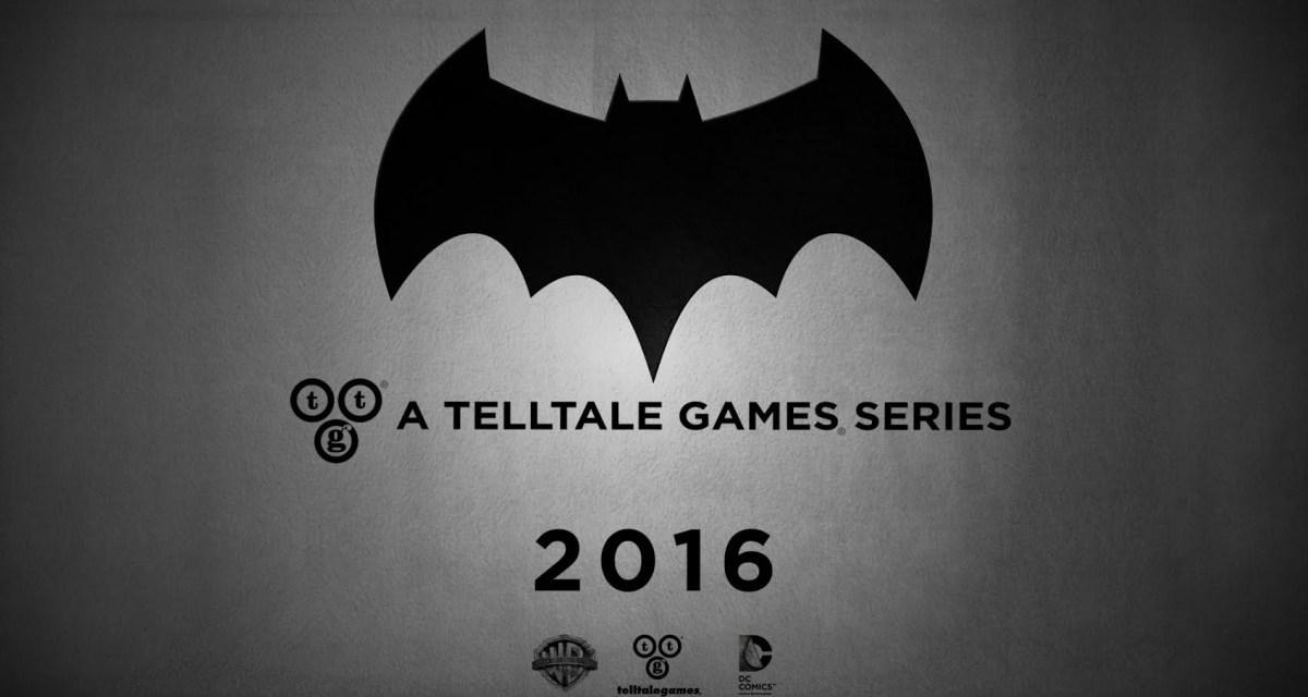 Telltale Games releasing new Batman game in 2016