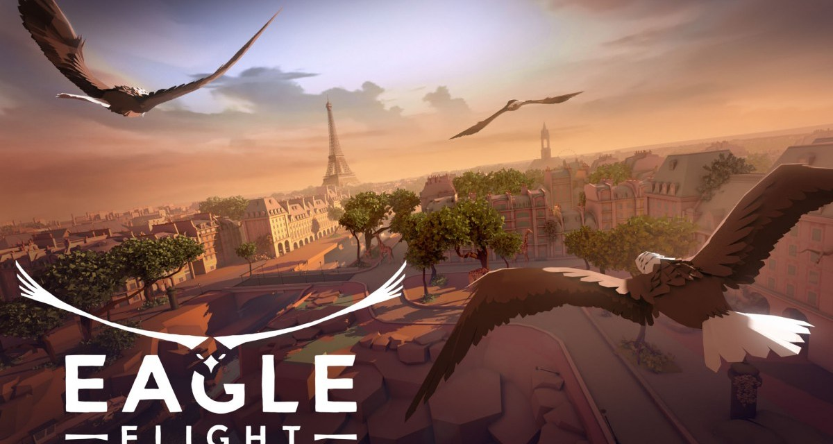 Glide through the heights of Paris with VR title Eagle Flight