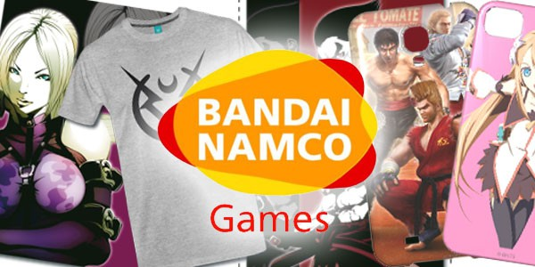 Grab some sweet Bandai Namco swag on their new European merchandise store