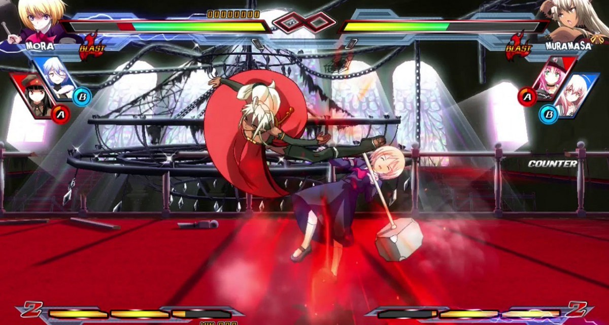 Nitroplus Blasterz: Heroines Infinite Duel DLC will be free during the first month of release