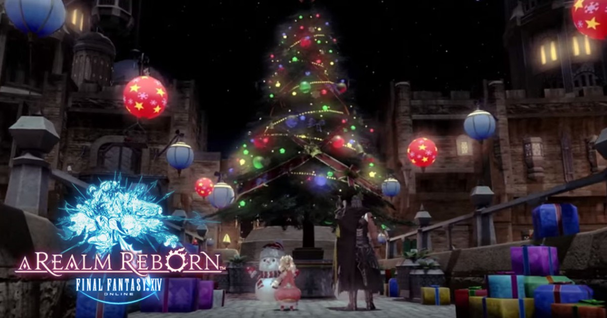 New Final Fantasy XIV trailer released to celebrate the festive holidays