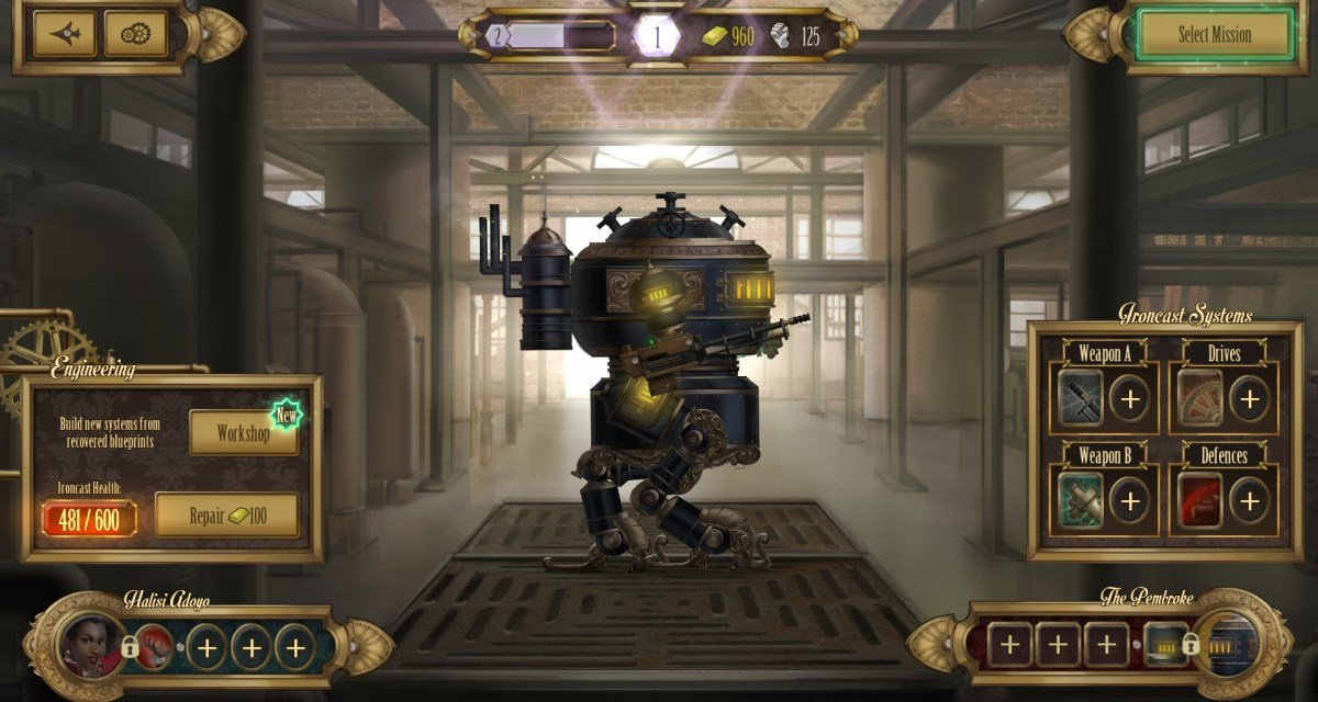 Launch trailer revealed for console edition of steampunk mech combat title Ironcast