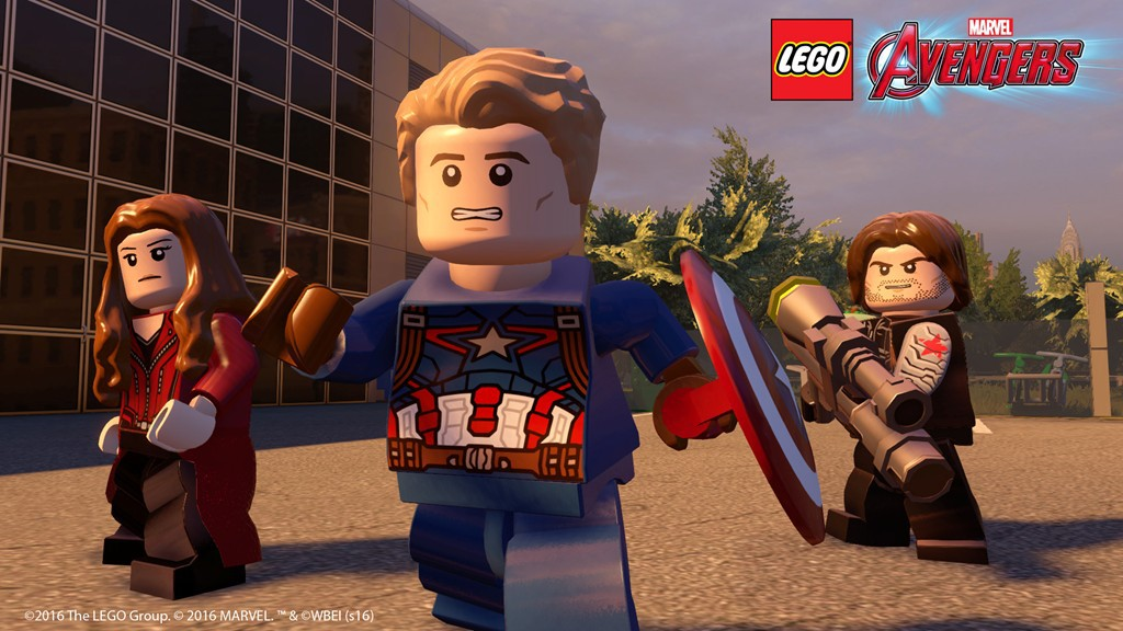 Playstation exclusive free Captain America: Civil War and Antman DLC for LEGO Marvel's Avengers announced