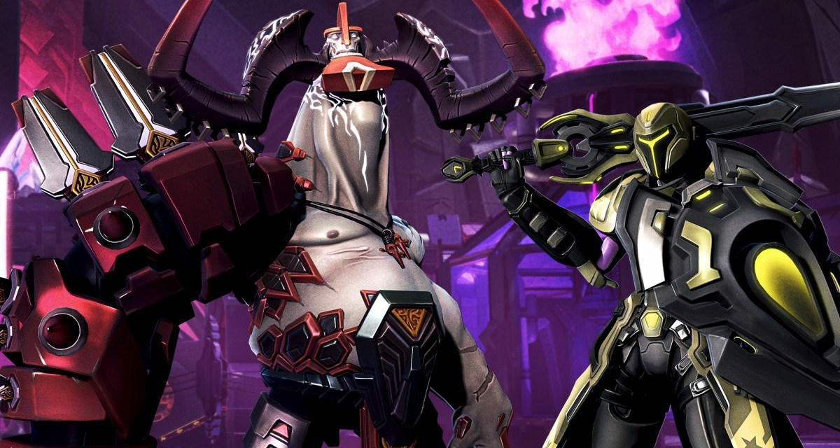 Two brand new heroes revealed for Battleborn – Attikus and Galilea