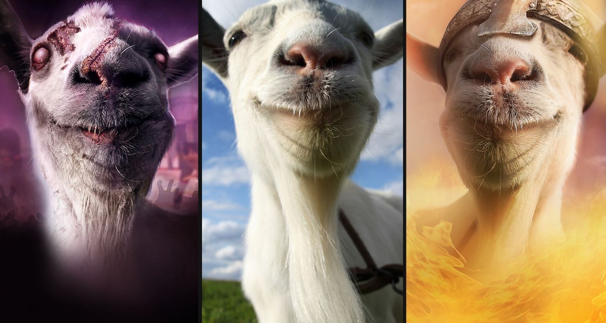 Goat Simulator: The Bundle hits retail on Xbox One next month