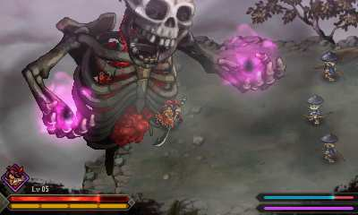 Japanese action RPG Sadame now available on the 3DS