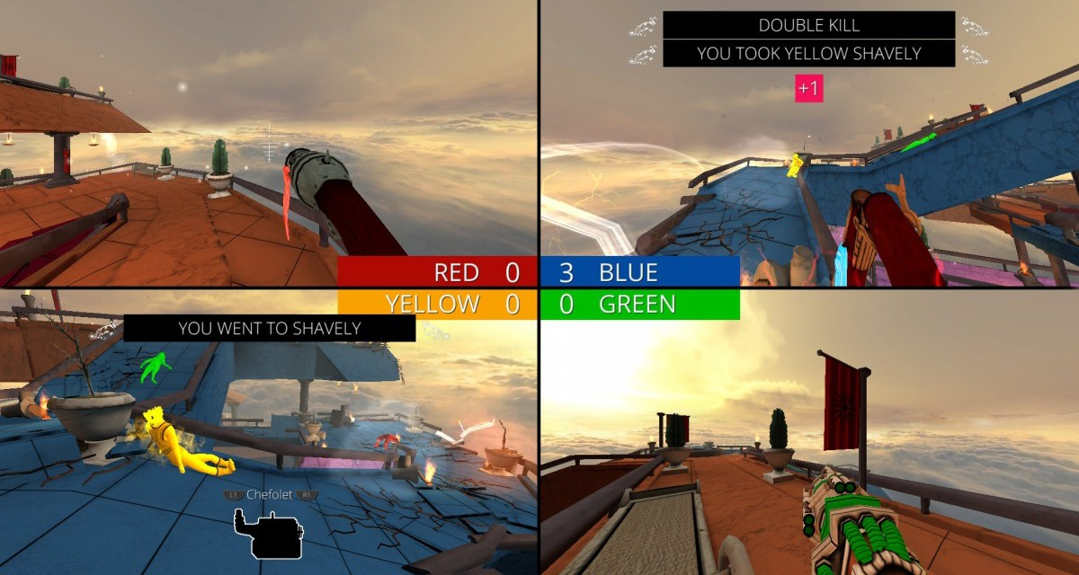 Screencheat launches today on Playstation 4 and Xbox One