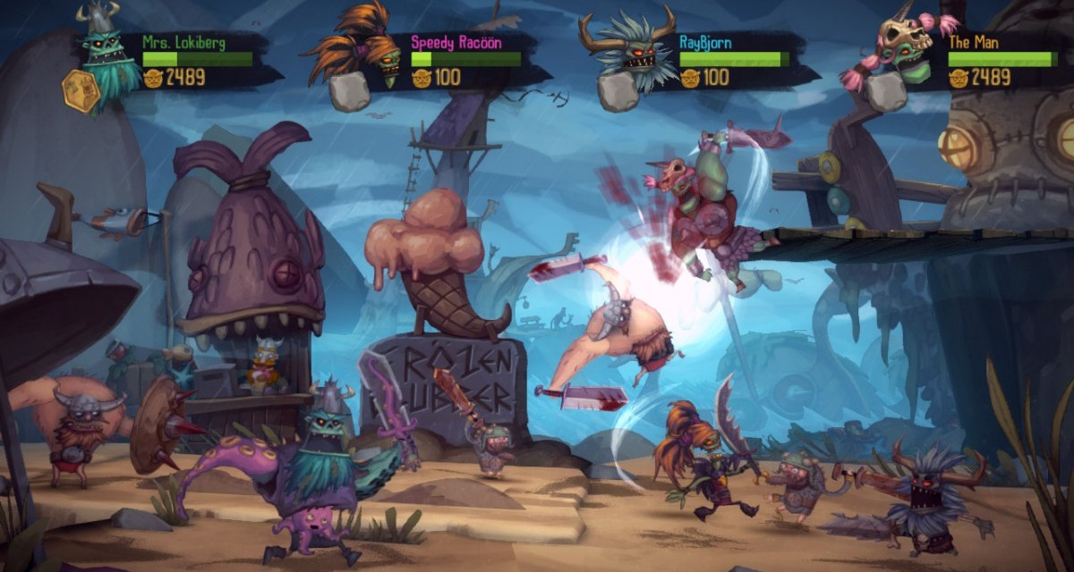 Zombie Vikings raids the Xbox One later this year