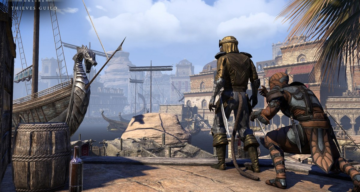 Thieves Guild expansion now available for The Elder Scrolls Online on PC