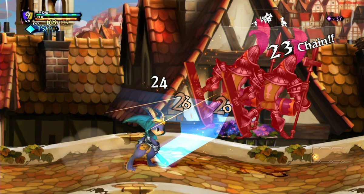 Skills and combat trailer released for Odin Sphere Leifthrasir