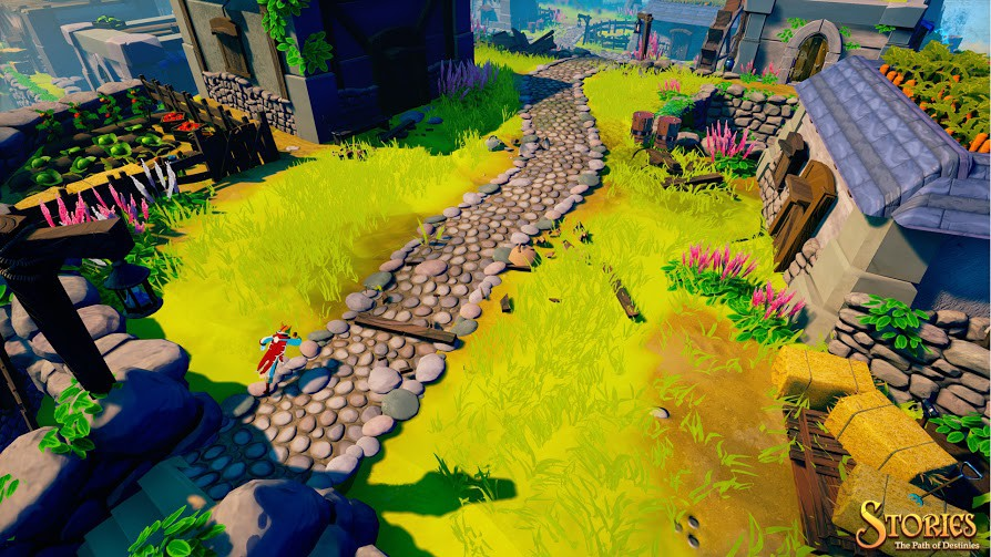 Out-fox your enemies in action RPG Stories: The Path Of Destinies this April