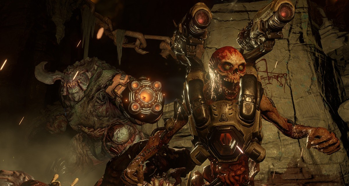 DOOM is now available worldwide on PC and consoles