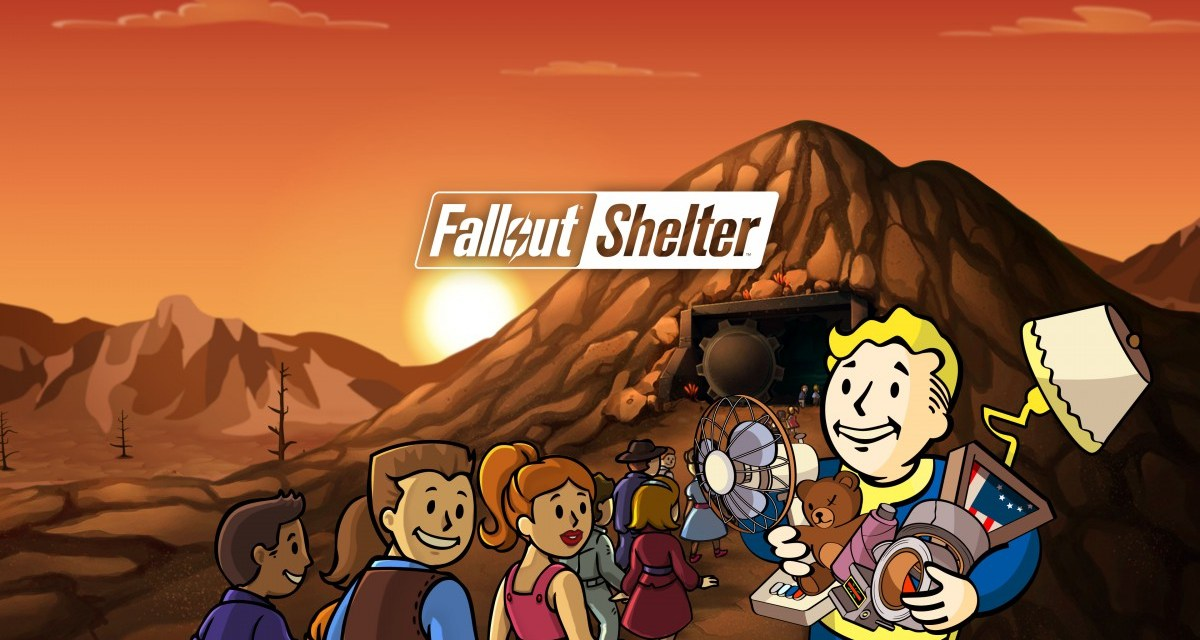 Fallout Shelter update 1.4 out now – includes new rooms, crafting and parrots!