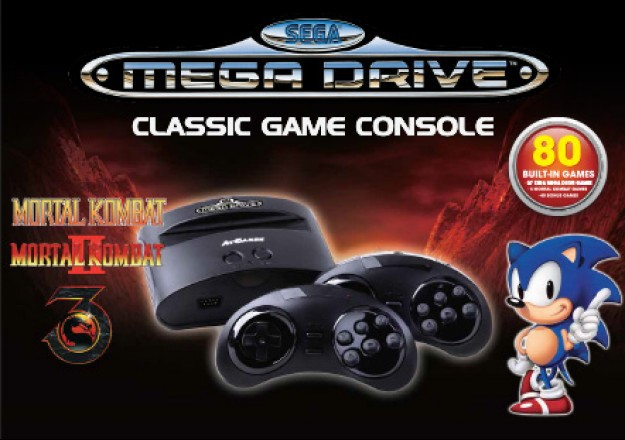 Funstock Retro now selling Mortal Kombat edition of Plug and Play Mega Drive console
