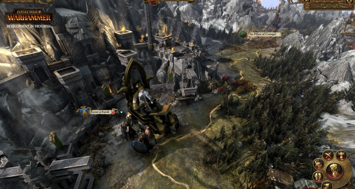 Check out some all new footage of the Dwarfs campaign in Total War: WARHAMMER