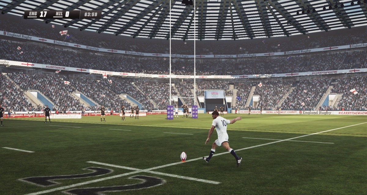 Kick off with Rugby Challenge 3 – available now on consoles
