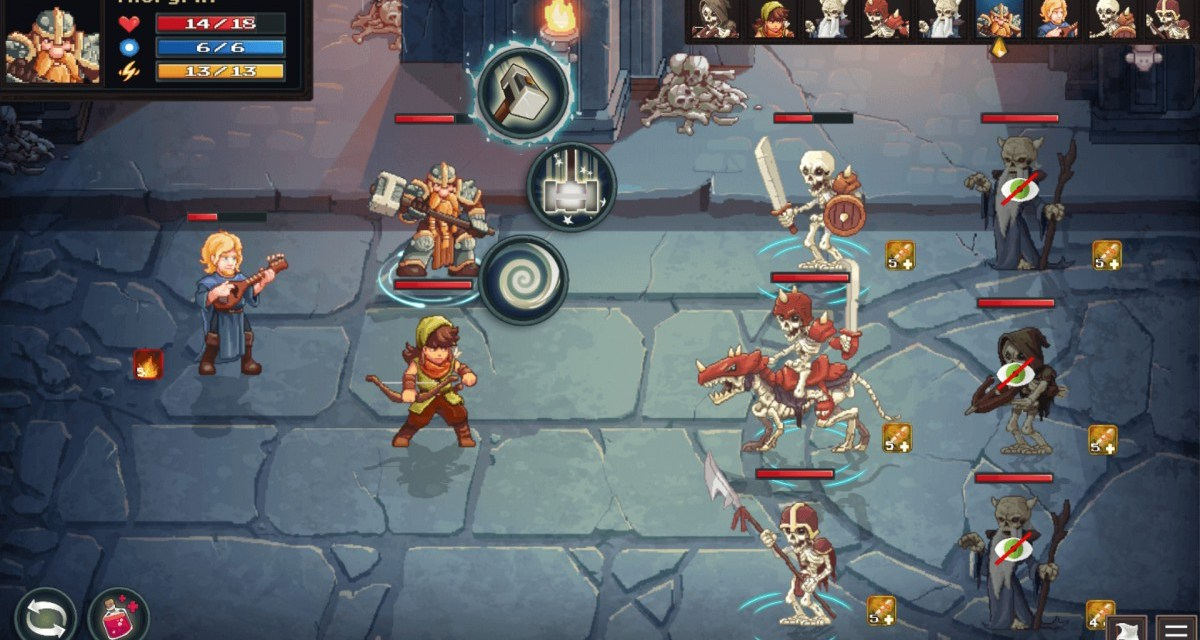 Storm some dungeons when tactical RPG Dungeon Rushers hits Early Access in May