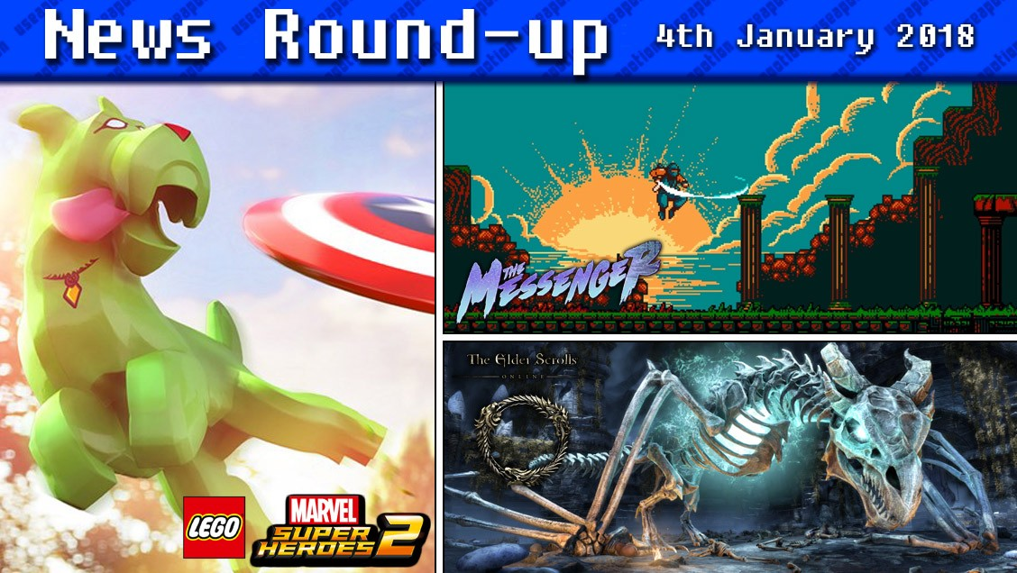 Gaming News Round-up   4th January 2018