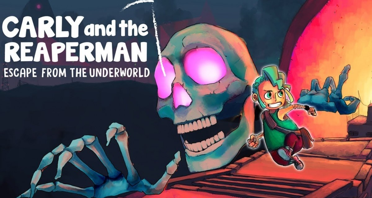 Carly and the Reaperman – Escape from the Underworld | REVIEW