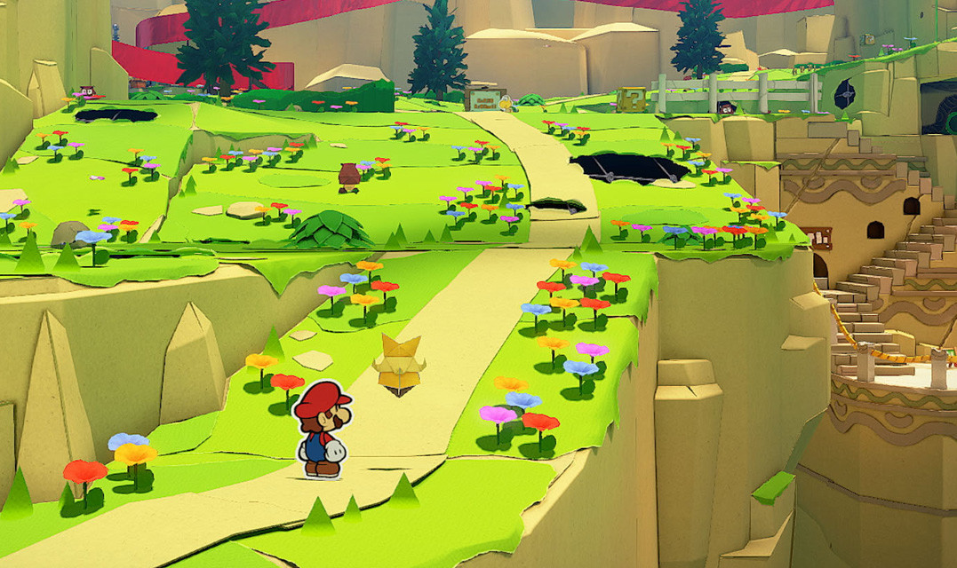 Paper Mario: The Origami King brings its paper-craft adventure to the Nintendo Switch today