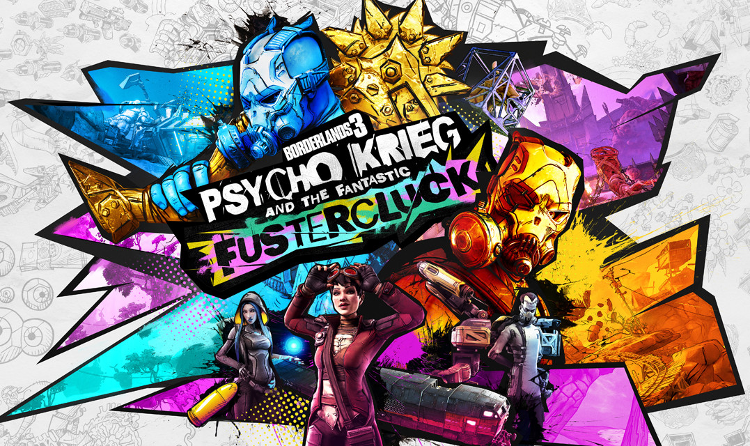 Borderlands 3's  'Psycho Krieg and the Fantastic Fustercluck'  DLC launches September 10th