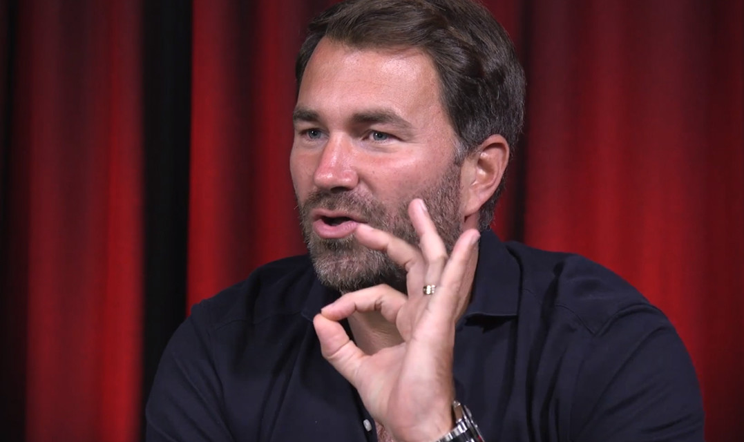Boxing promoter Eddie Hearn responds to Mafia: Definitive Edition in a new wise-cracking video
