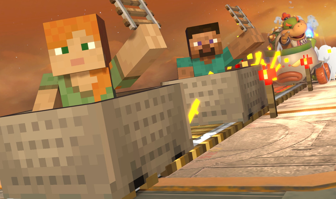 Minecraft's Steve and Alex are the next Super Smash Bros Ultimate DLC fighter