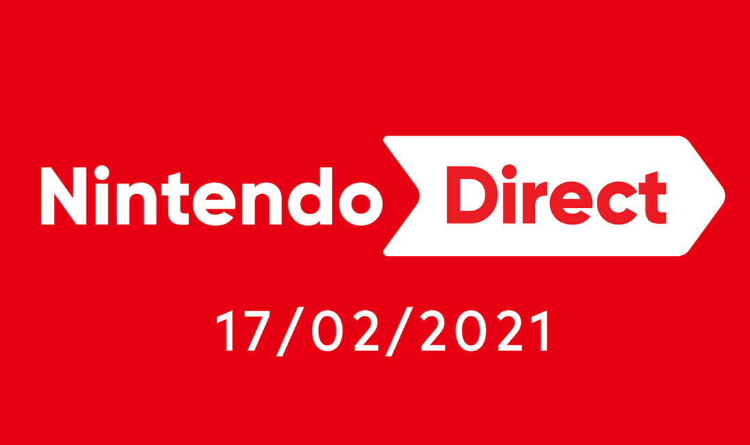 A fifty-minute Nintendo Direct is taking place on Wednesday 17th February (That's tomorrow!)
