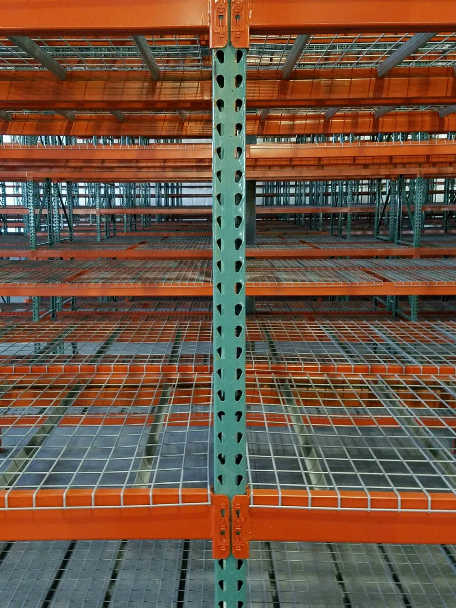used wire decking 48 d x 46 w