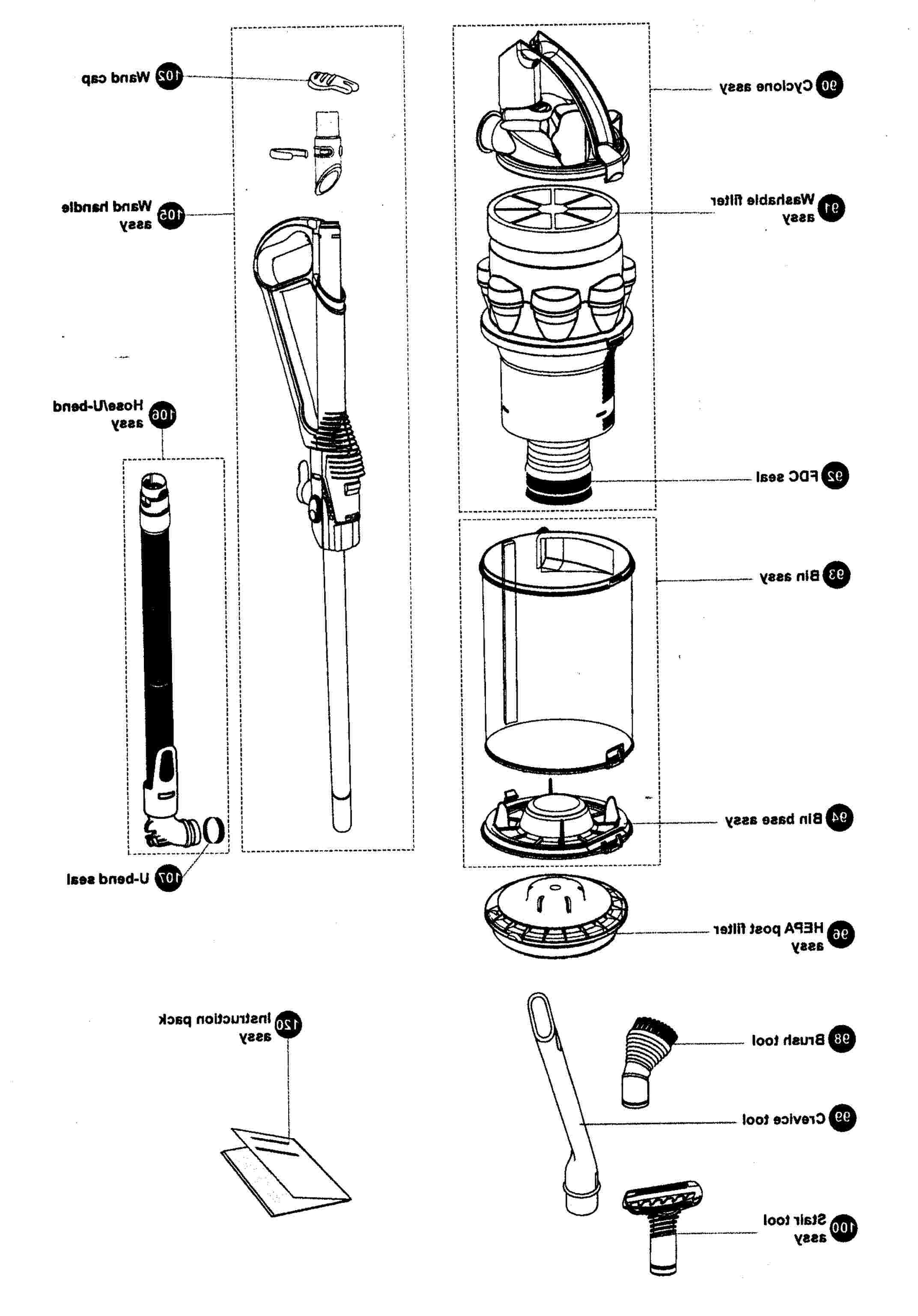 Dyson Dc41 Animal Parts Diagram