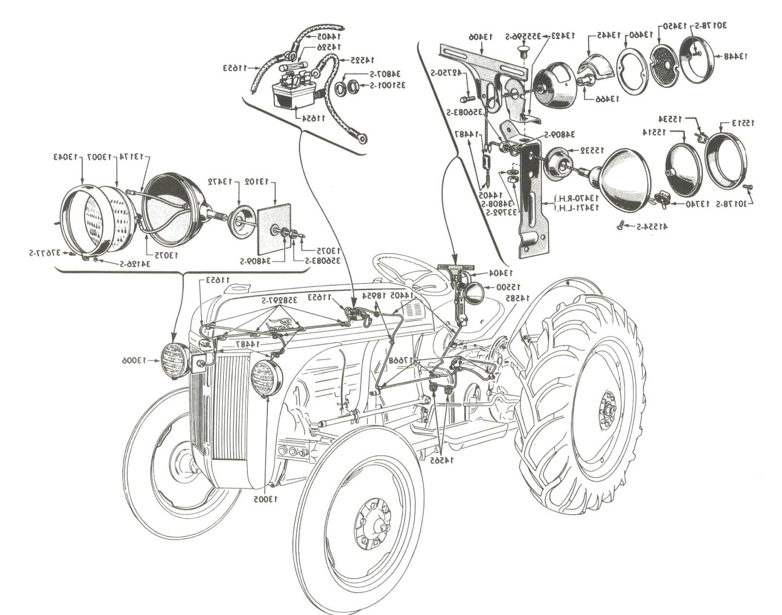 Ford 8n Tractor Parts For Sale