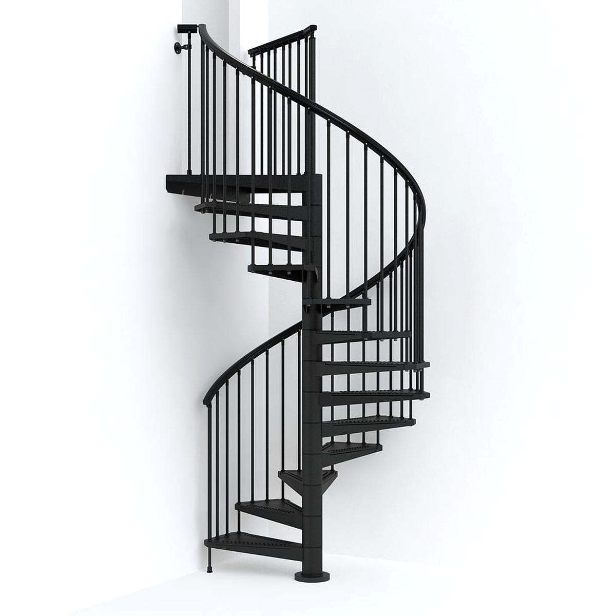 Spiral Staircase For Sale Only 2 Left At 65   Steel Spiral Staircase For Sale   Wrought Iron   Staircase Design   Kits   Cast Iron   Stair Handrail