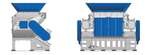 shredder τεμαχιστής σπαστήρας