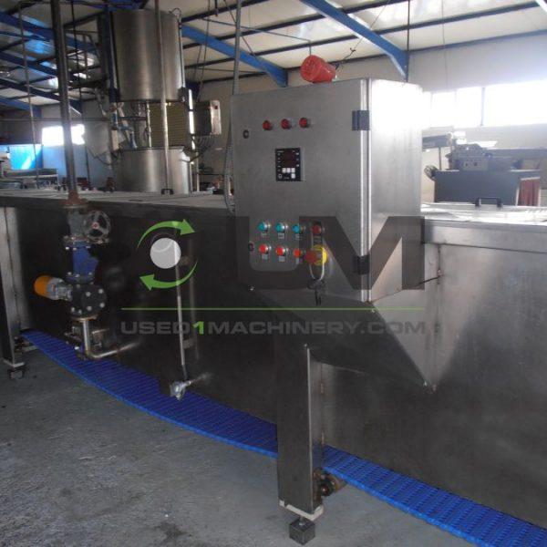 Ολόκληρη γραμμή για επεξεργασία και συσκευασία τροφίμων σε βαζάκια