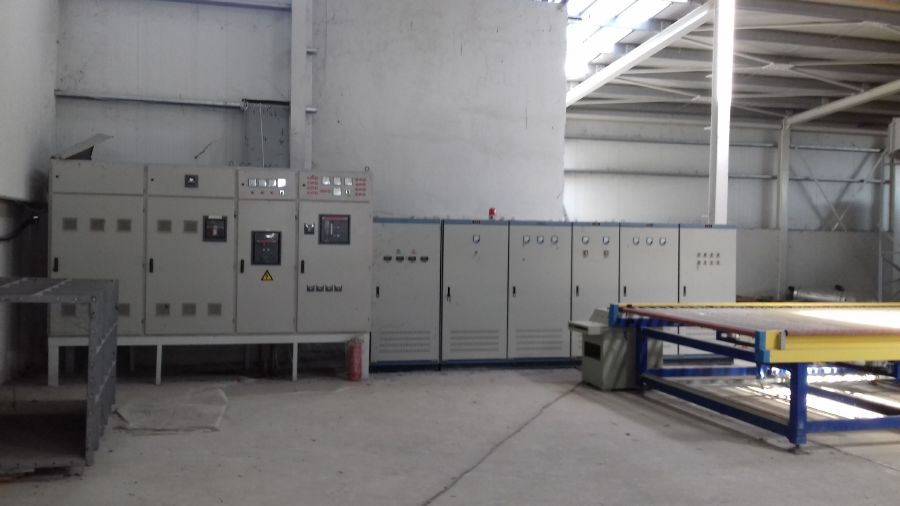Μηχανήματα επεξεργασίας γυαλιού τροχιστικό βιομηχανικός φούρνος
