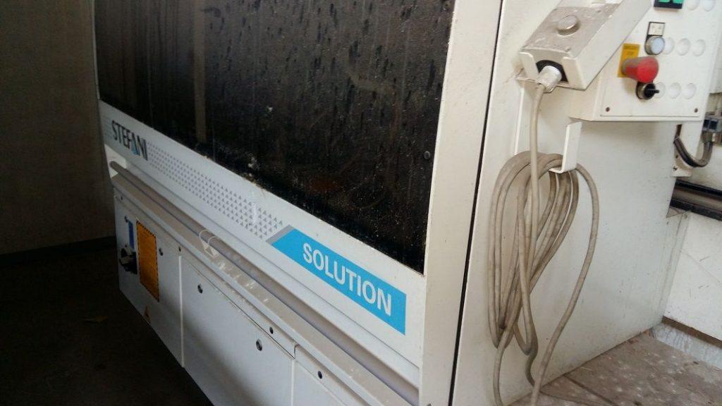 Μεταχειρισμένη συγκολλητική μηχανή περιθωρίων για πόρτες