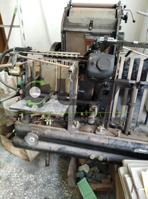 Τυπογραφική μηχανή μονόχρωμη μάρκα GRAFOTYP