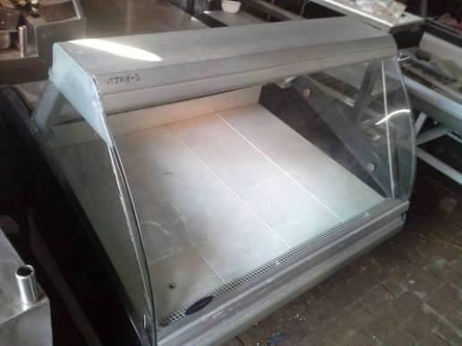 Display Counter and Four Door Fridge