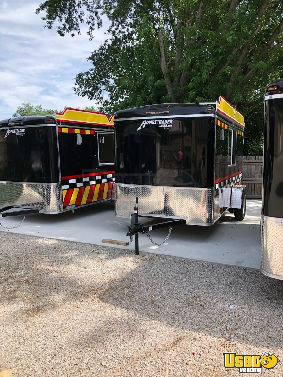 2021 6 x 12 food concession trailer new mobile kitchen for sale in ohio