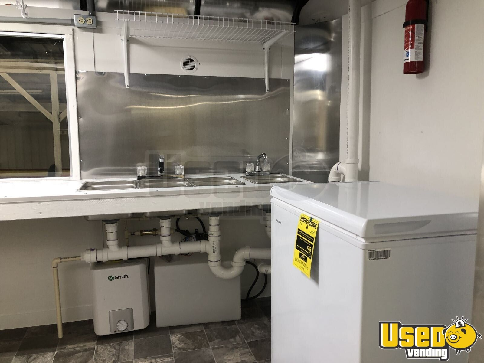 new 2021 6 x 12 electric food concession trailer mobile kitchen for sale in ohio