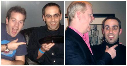 Mike Birbiglia and Jim Gaffigan