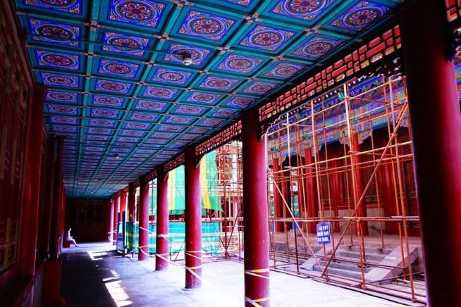 普陀宗乗之廟の風景