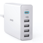 Anker PowerPort+ 5 USB-C Power Delivery