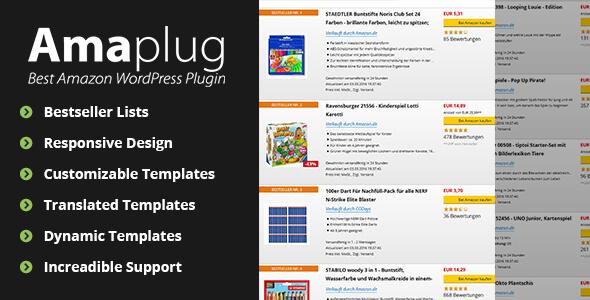 Amaplug - Amazon Affiliate Plugin