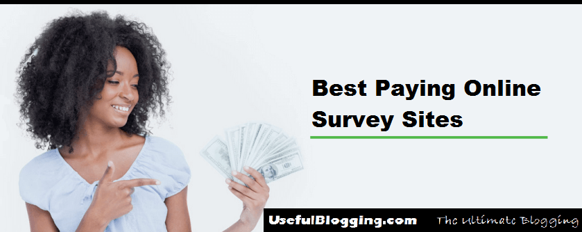 Best Paying Online Survey Sites