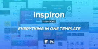 15+ Exclusive & High-Quality Multipurpose PSD Templates 2017