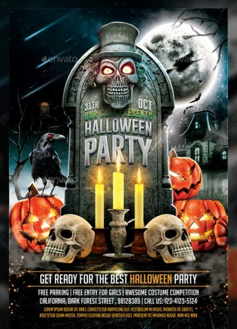 awesome-halloween-psd-party-flyer-templates-11