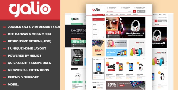 16 best virtuemart templates for joomla ecommerce websites 2017