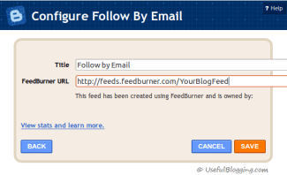 How to Add Official Email Subscriptions Widget in Blogspot